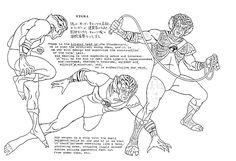 Thundercats - Character Design Page - Tygra