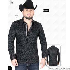 d4ecf1592 Ropa Vaquera Mexicana · Camisa Vaquera Lamasini Jeans 4255 Gris Jean  Shirts