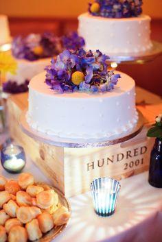 small white mini cakes  http://www.yellowvase.com/