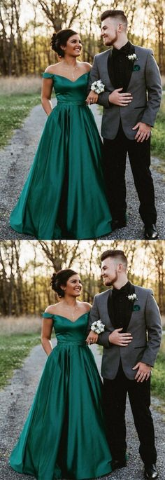 Prom Dresses Ball Gown, Off the shoulder hunter green long prom dress, long homecoming dress party dress, from the ever-popular high-low prom dresses, to fun and flirty short prom dresses and elegant long prom gowns. Senior Prom Dresses, Homecoming Dresses Long, A Line Prom Dresses, Formal Evening Dresses, Pink Evening Dress, Short Prom, Dark Green Prom Dresses, Emerald Green Dresses, Emerald Prom Dress