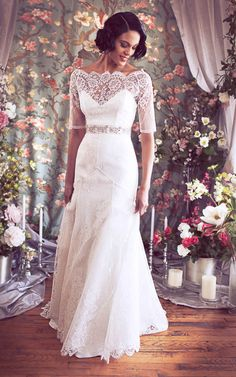 Marisol-Celeste Gown by Schone Bridal. Beautiful!