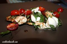 Baked Caprese Chicken with Balsamic Glaze