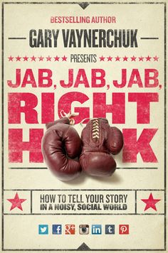 "Book review of ""Jab, Jab, Right Hook"" from a #PR perspective"
