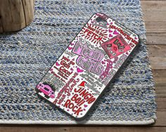 Mean Girls Lyrics Case fit for iPhone 4/4S by CartwrightArts, $16.99