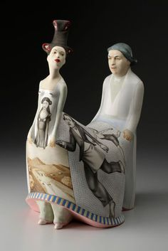 We are really enjoying the new work of Sergei Isupov, a ceramic artist born in Russia and currently living in Virginia. We are really enjoying the new...