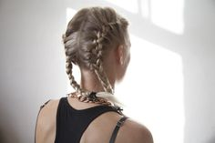 Creating two French braids on the sides of your head may sound like a project for a hair artist, but it really is not. French braid pigtails are actually simpler to create than the traditional French braid, because you are working with less hair on each side of your head, once the hair is parted. …