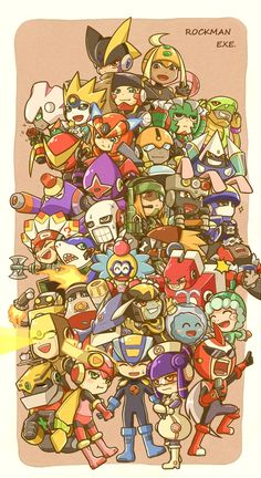 Mega Man Battle Network NetNavis