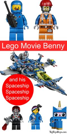 Benny's Spaceship Lego Set is huge and will take hours and hours to put together. What fun it will be though! Get the family involved.