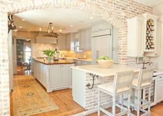 @Kristen Keegan...this kitchen reminds me of yours! Kitchen by Munger Interiors