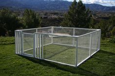 All photos shown with a Modified Gate Kit. Additional components were used.~ The SnapFence 3' tall x 8' wide x 16' long Pet Enclosure Kit allows you to create a very clean and useful pet enclosure. Th