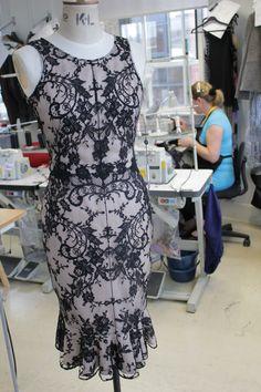 Beautiful Black Lace Dress by Alexander McQueen