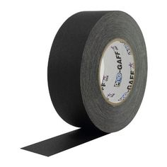 ProTapes Pro Gaff Matte Cloth Gaffer's Tape with Rubber Adhesive, 11 mil Thickness, 55 Yard Length, http://www.amazon.com/dp/B00DVCK0I6/ref=cm_sw_r_pi_awdm_P9k8tb0ZQJ4P1