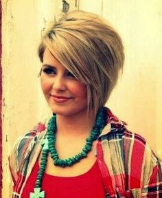 cool flattering hairstyles for fat faces - Google Search ...