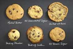 Control how your cookies turn out with our guide to 6 ingredients that affect their look, taste and feel.