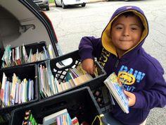 Falling Creek Elementary bookmobile