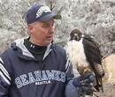 Meet Taima the Seahawks mascot