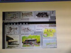 Prancha de apresentação, desenho de obsrvação