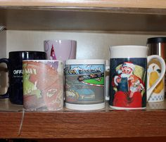Ugly Mugs Behind the Scenes of UrbanGirl--10 things you didn't know about UrbanGirl are revealed, including our hideous coffee mug collection.