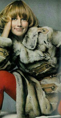 Vogue 1st October 1969 Model Ulla Bomser