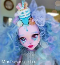 Dolls - repainted doll - by Mia's Daydream - ooak doll