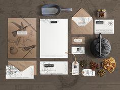 The Tea Shop branding WIP by Marcel Buerkle