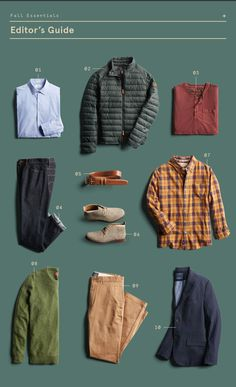 10 Men's Fall Essentials for 2019 10 Men's Fall Style Essentials–especially love the red button-down t-shirt, orange plaid, and the chukka boots. Also the dark denim jeans. Simple Fall Outfits, Fall Fashion Outfits, Autumn Fashion, Fashion Boots, Casual Outfits, Capsule Wardrobe Casual, Men's Wardrobe, Fashion Essentials, Style Essentials