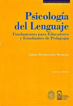Libros y materiales educativos: Psicología del lenguaje