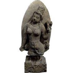 Dewi Tara Statue - Buddha - Sculptures & Statues - Stone and Water World
