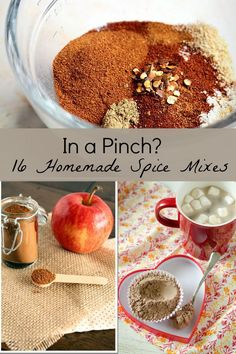 In a Pinch ? Pennies and Minutes to Make #16 Homemade Spice mixes