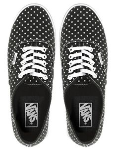 c7656fff16 Vans Lo Pro Polka Dot Lace Up Trainers