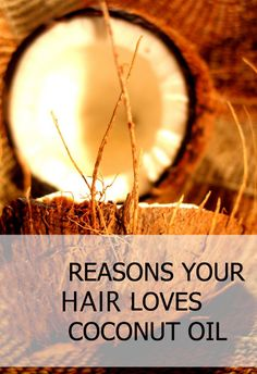 DIY 6 amazing Coconut oil hair treatment - treat every hair problem with coconut oil - split ends, dull hair, hair loss, dandruff. Diy Hair Treatment, Coconut Oil Hair Treatment, Coconut Oil Hair Growth, Coconut Oil Hair Mask, Hair Growth Treatment, Coconut Oil For Skin, Hair Treatments, Dull Hair, Benefits Of Coconut Oil