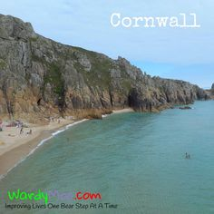 This is Treen beach in #Cornwall the tide is now in and we are heading our way back - clothes are optional at this beach - which option did we take??