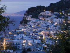 Capri is a picturesque island and tourist attraction in Gulf of Naples, Italy.