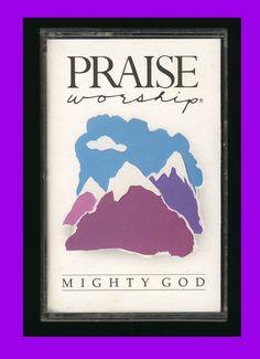 HOSANNA MUSIC - Mighty God (1989 Cassette Tape) CCM PRAISE WORSHIP #PRAISEWORSHIP
