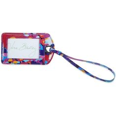 Vera Bradley Luggage Tag in Impressionista ($12) ❤ liked on Polyvore featuring bags, luggage, accessories, impressionista and personal accessories