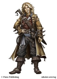 Pathfinder - Tilo of Braganza by NikolaiOstertag on DeviantArt email… Fantasy Character Design, Character Design Inspiration, Character Concept, Character Art, Character Ideas, Dungeons And Dragons Characters, D D Characters, Fantasy Characters, Fantasy Figures