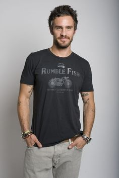 RUMBLEFISH,  CREW NECK