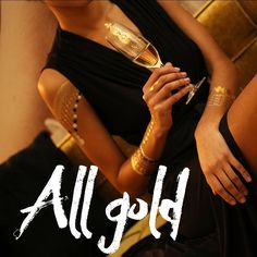 hi prtties take a look at www.prtty.me/looks to see all the pictures  #allgold #allgoldeverything #nightout #thenightstartshere #girlsnightout #blackdress #allblackeverything #jewelry #bodyjewelry #temptattoo #miinto #miintomoments #prtty #feelprtty