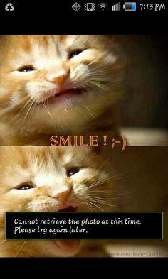 Weird smiles