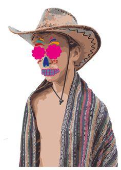 skelet versieren, = niet zo mooi