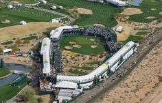 Phoenix Open 16th Hole. Greatest show in golf.