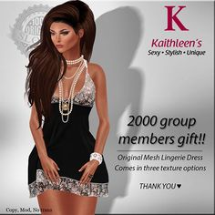 Second Life Freebies and more: 2000 Group Members