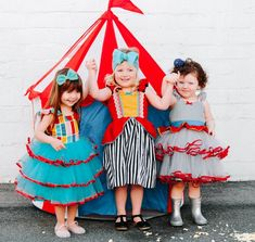 DUMBO dress, girls Dumbo dress, Circus dress, girls party dress, toddler dress, Carnival dress, bir