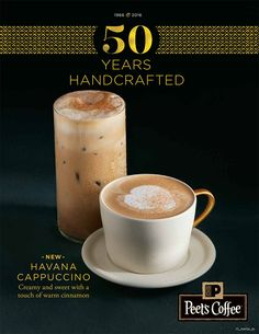 50 year anniversary for Peet's Coffee and Tea in store campaign