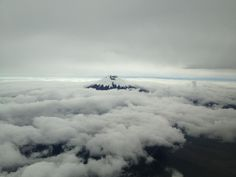 Cotopaxi during approach to Quito