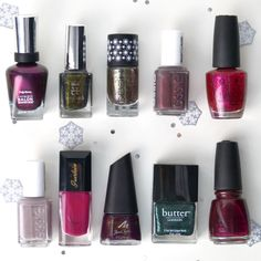 my favourite nail polishes - winter edition