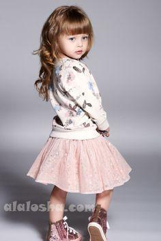 ALALOSHA: VOGUE ENFANTS: Child Model of the Day: ANNA