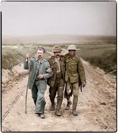 British and German wounded, Bernafay Wood, Montauban-de-Picardie, France. 19th July 1916. Bernafay Wood was captured by Divisions of the British XIII Corps on 3-4 July 1916 during the opening days of the Somme offensive. A dressing station was established there soon after its capture. (IWM)