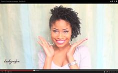 3 Quick Natural Hairstyles for Short/Med Hair. Hair Tutorials | KinkyCurlyCoilyMe!