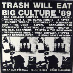V.A. - Trash Will Eat Big Culture '89 - Music & Arts. De